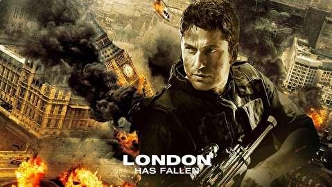 پشت صحنه فیلم لندن سقوط کرده است