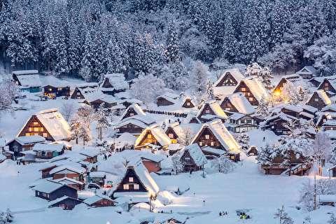 زیباییهای زمستان