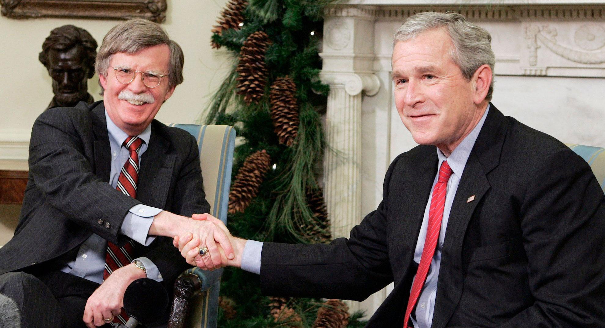 جان بولتون مشاور امنیت ملی رئیس جمهور آمریکا شد
