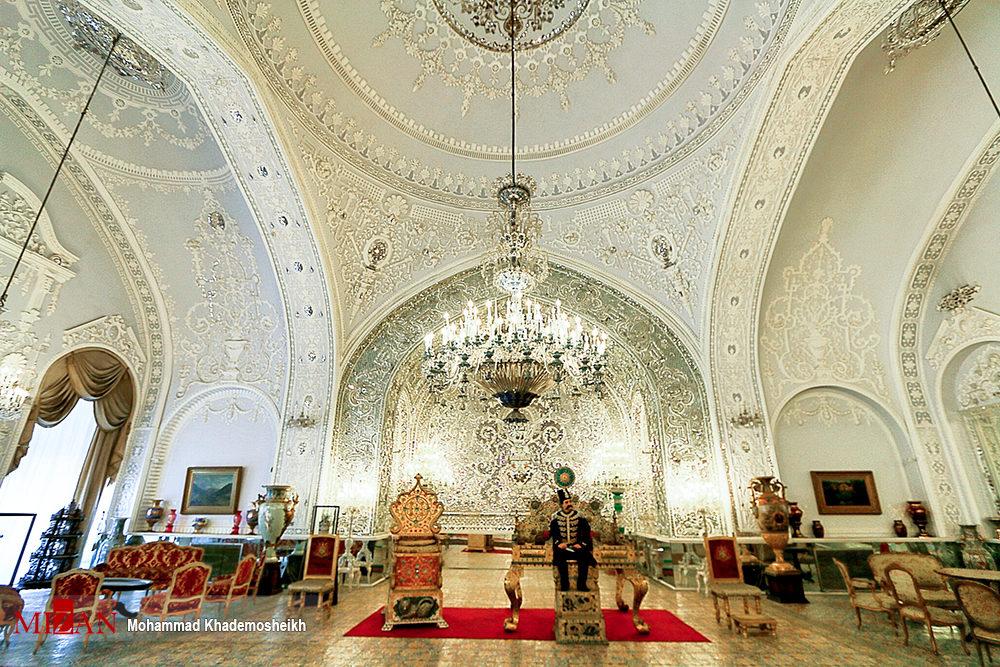 زیبایی های کاخ گلستان - تابناک   TABNAK