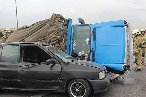 بیشترین عامل تصادفات جادهای