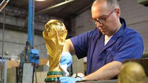 مراحل ساخت کاپ جام جهانی 2018 روسیه