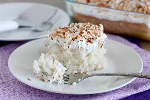 طرز تهیه کیک نارگیلی