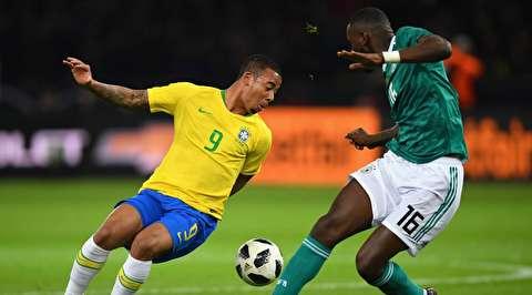 گزیده بازی برزیل - آلمان
