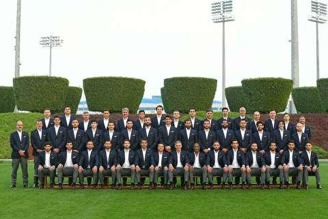 بدرقه تیم ملی ایران به جام ملتهای آسیا