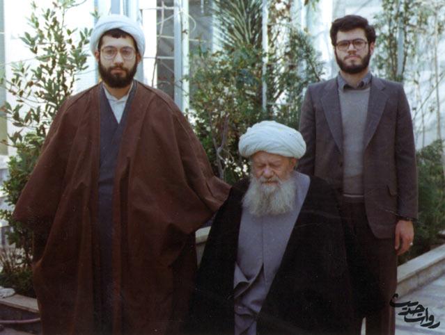 جوانی آملی لاریجانی و باقر لاریجانی