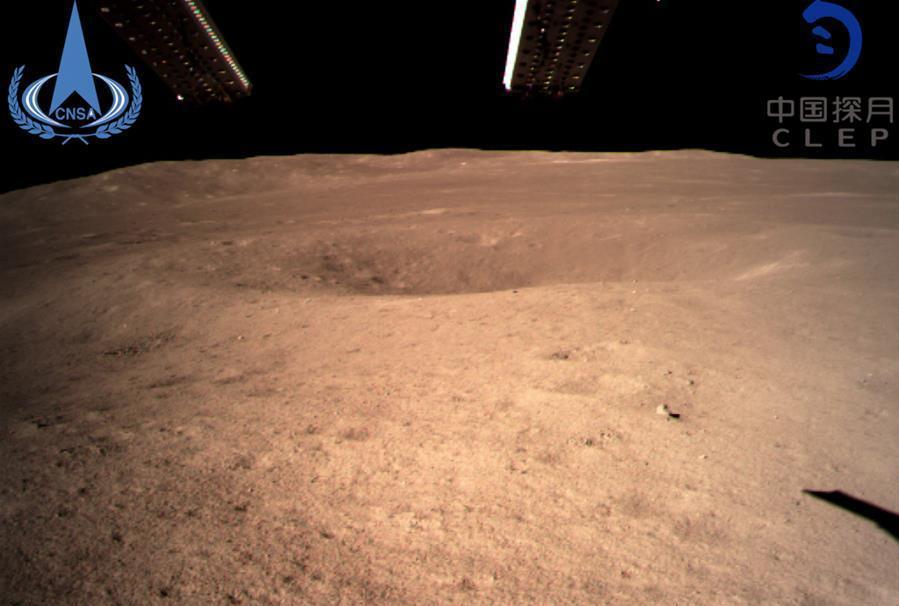ارسال نخستین عکس از نیمه پنهان ماه