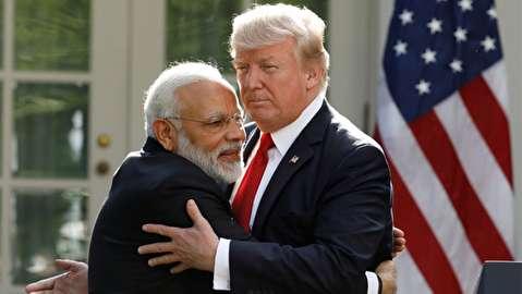 ترامپ نخست وزیر هند را مسخره کرد