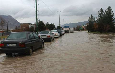 باران خرمآباد را دوباره زیر آب برد