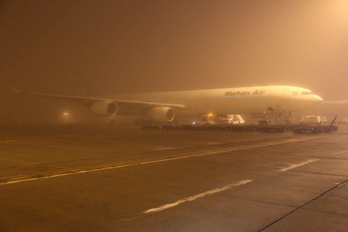 توقف پروازهای فرودگاه امام خمینی (ره)