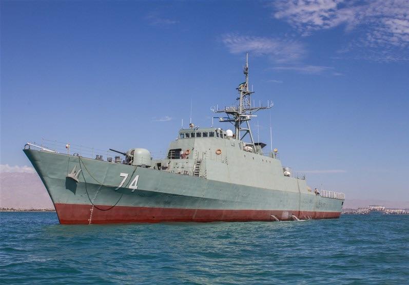 بزرگترین شناورهای ارتش ایران به قاره آمریکا میروند