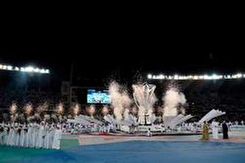 مراسم افتتامیه جام ملتهای آسیا