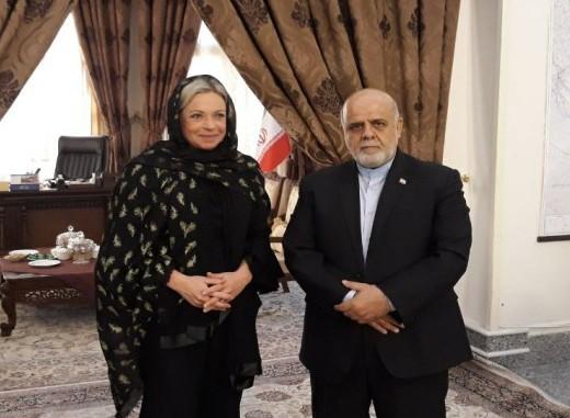 دیدار نماینده جدید گوترش با سفیر ایران در بغداد