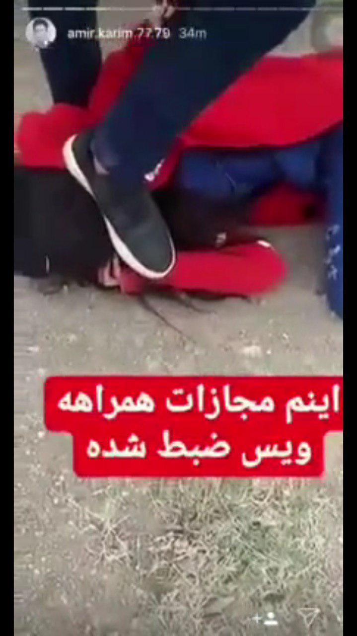بازداشت عوامل فیلم «کتک زدن دختر جوان»