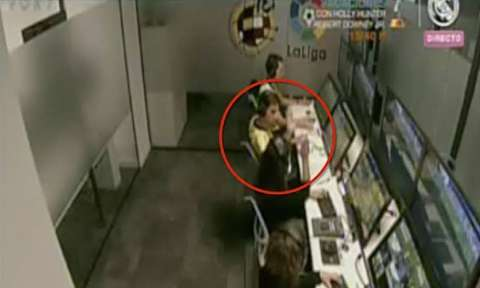 شادی کمک داوران ویدیویی از گل خوردن رئال مادرید