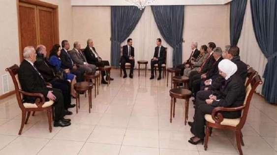 هشدار اسد به جهان عرب درمورد تهدیدها