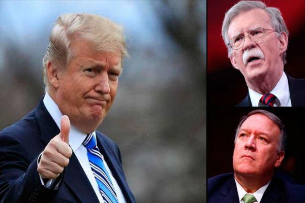 پروژه «بولتون-پمپئو»  می تواند ترامپ را به ماندن در خاورمیانه متقاعد کند؟/ تصمیم ترامپ برای خروج نیروهای آمریکا از خاورمیانه!