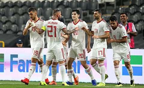 گزیده بازی فوتبال ایران - یمن