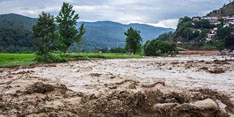 سیلاب در شهرهای شمالی خوزستان