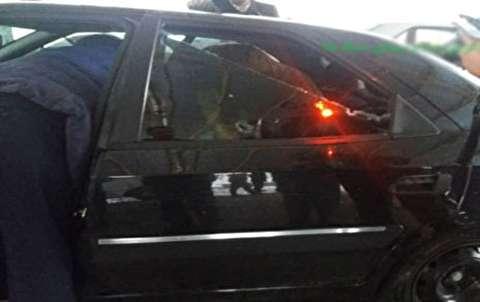 خودرو رییس دادگستریکهگیلویهوبویراحمد پس از ترور