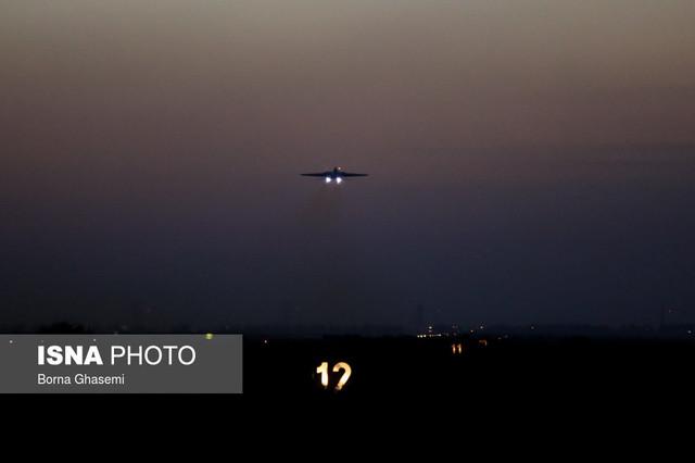 بمباران شبانه توسط جنگندههای نیروی هوایی ارتش
