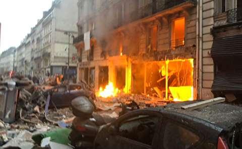 انفجار شدید یک نانوایی در پاریس