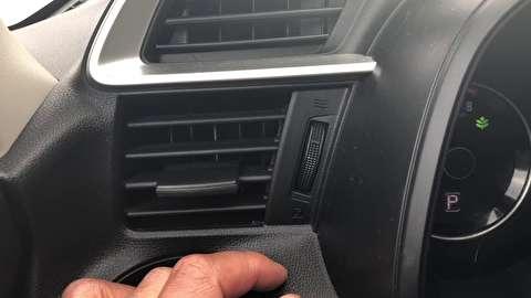 نحوه تعویض موتورهای ترکیب هوا در سیستم تهویه خودرو