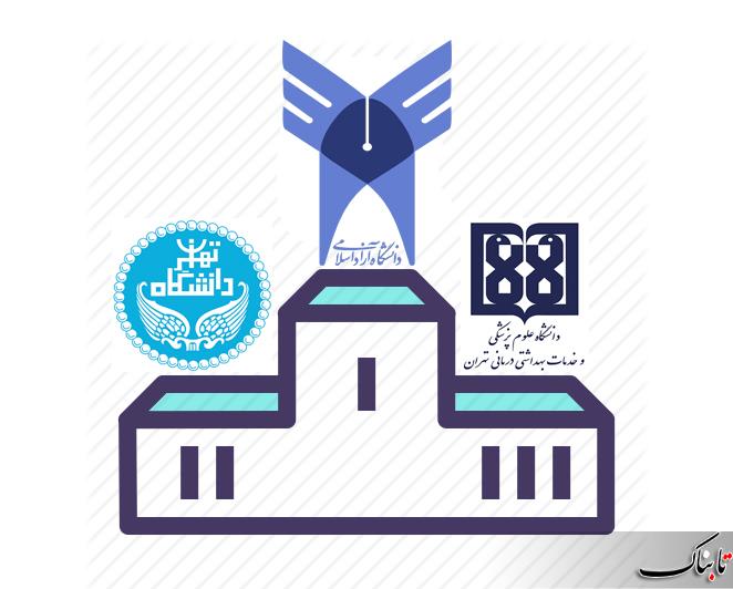 دانشگاه آزاد اسلامی از دانشگاه تهران سبقت گرفت!