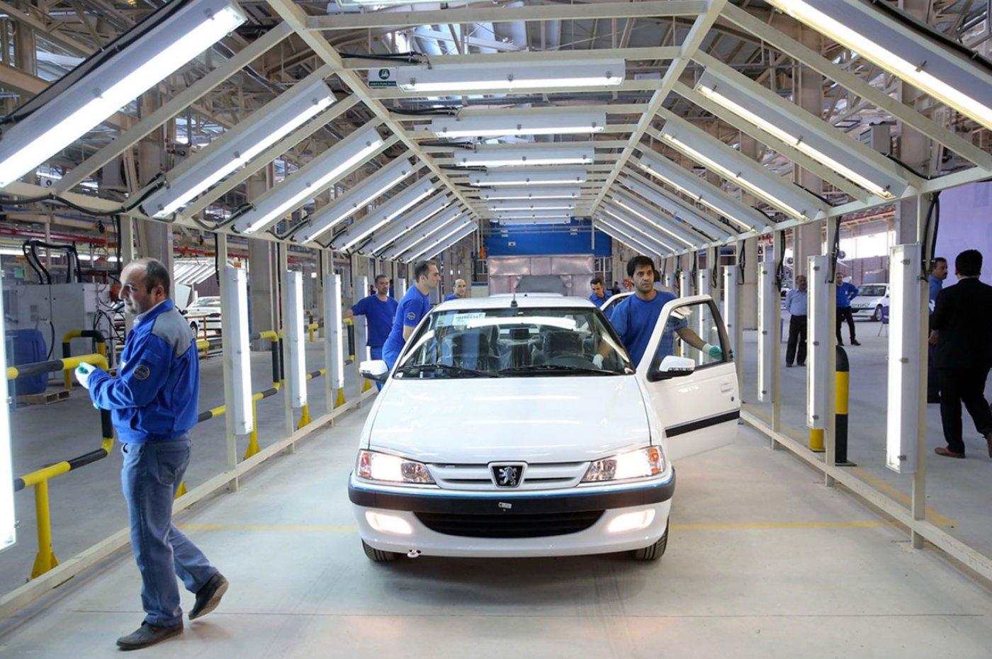 ایران خودرو قیمت