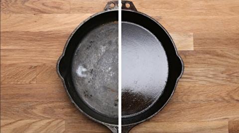 روش نگهداری و پخت با ماهیتابههای چدنی