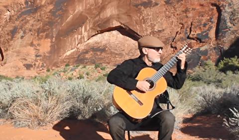 یک اتود در لا مینور با گیتار ؛ مایکل لوکارلی