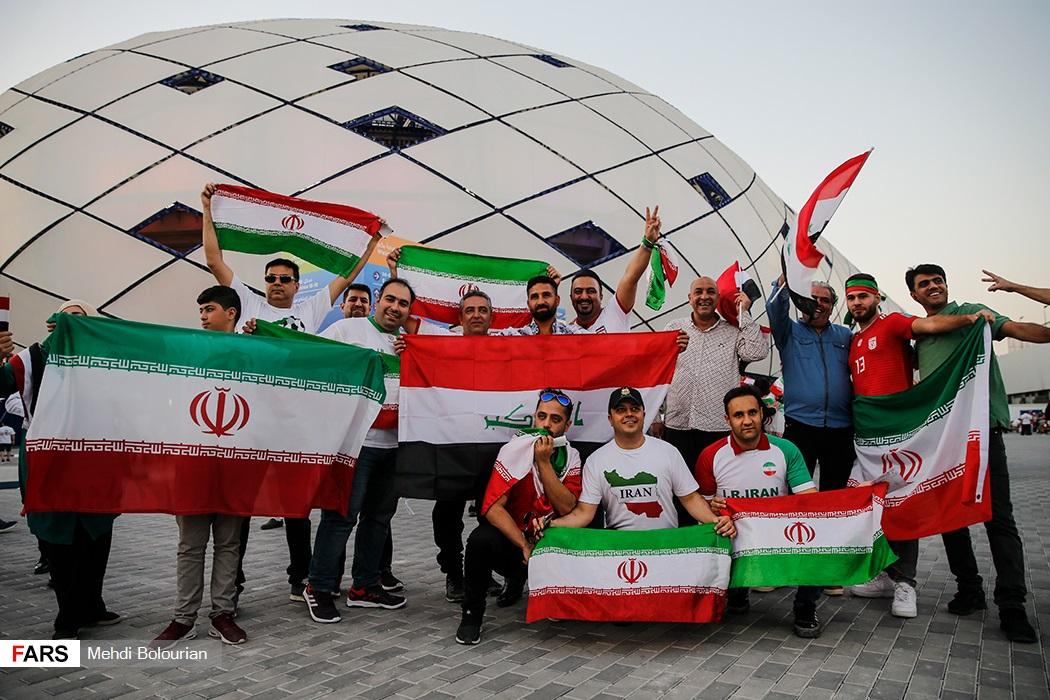 ایران ۰ - ۰ عراق / صعود ایران به عنوان صدرنشین گروه D/ ایرماتف دو پنالتی را برای ایران ندید