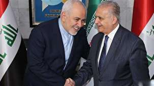 "Zarif concludes his Baghdad visit, satisfied with ""fruitful"" meetings"