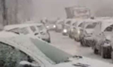 بلایی که برف بر سر مردم کرج آورد!