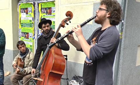 کوارتت برای موسیقی ایتالیایی در خیابانهای مادرید