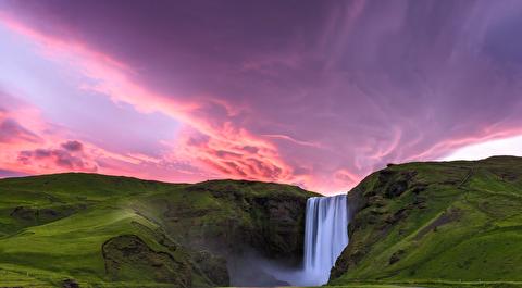 خورشید نیمه شب  ایسلند