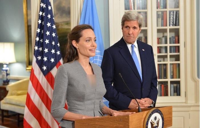 آیا آنجلینا جولی رییسجمهور آمریکا میشود؟