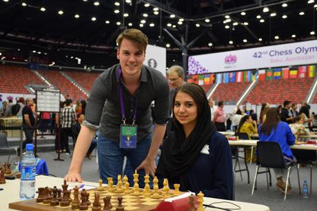دختر ایرانی، قهرمان شطرنج سریع و برق آسای 2018 جهان شد