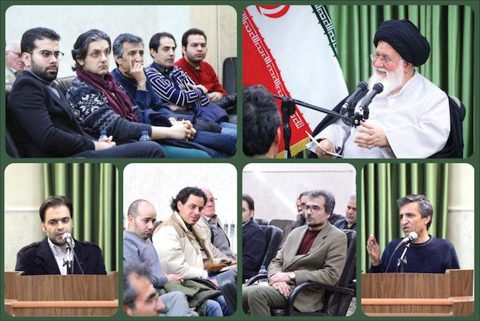 نشست علم الهدی با اهالی موسیقی مشهد
