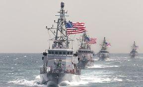 استقرار یگانهای دریایی آمریکا در سواحل کلمبیا