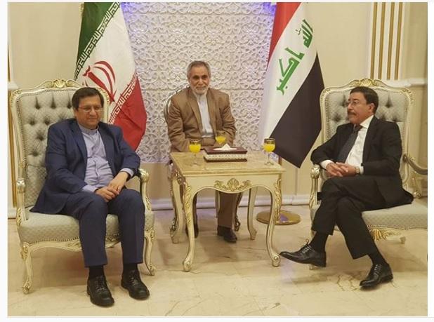 رئیس کل بانک مرکزی وارد عراق شد