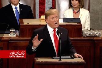 ترامپ درسخنرانیسالانه: از ایران چشم برنمیداریم