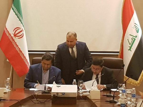 امضای توافقنامه نظام پرداخت مالی بین ایران و عراق