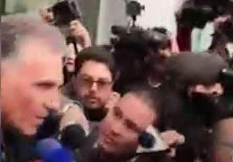 ورود کیروش به کلمبیا و سورپرایز یک ایرانی