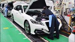 خط تولید خودرو تویوتا کراون مدل 2018