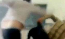 کتککاری معلم و دانشآموز در مدرسه