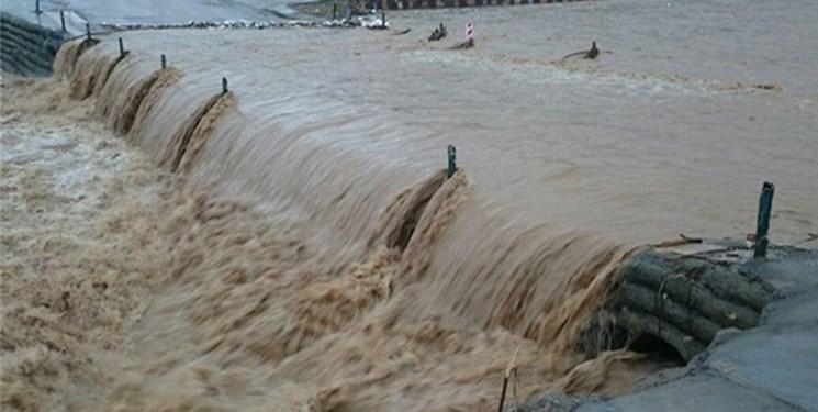 ورود سیلاب به دشت سیستان