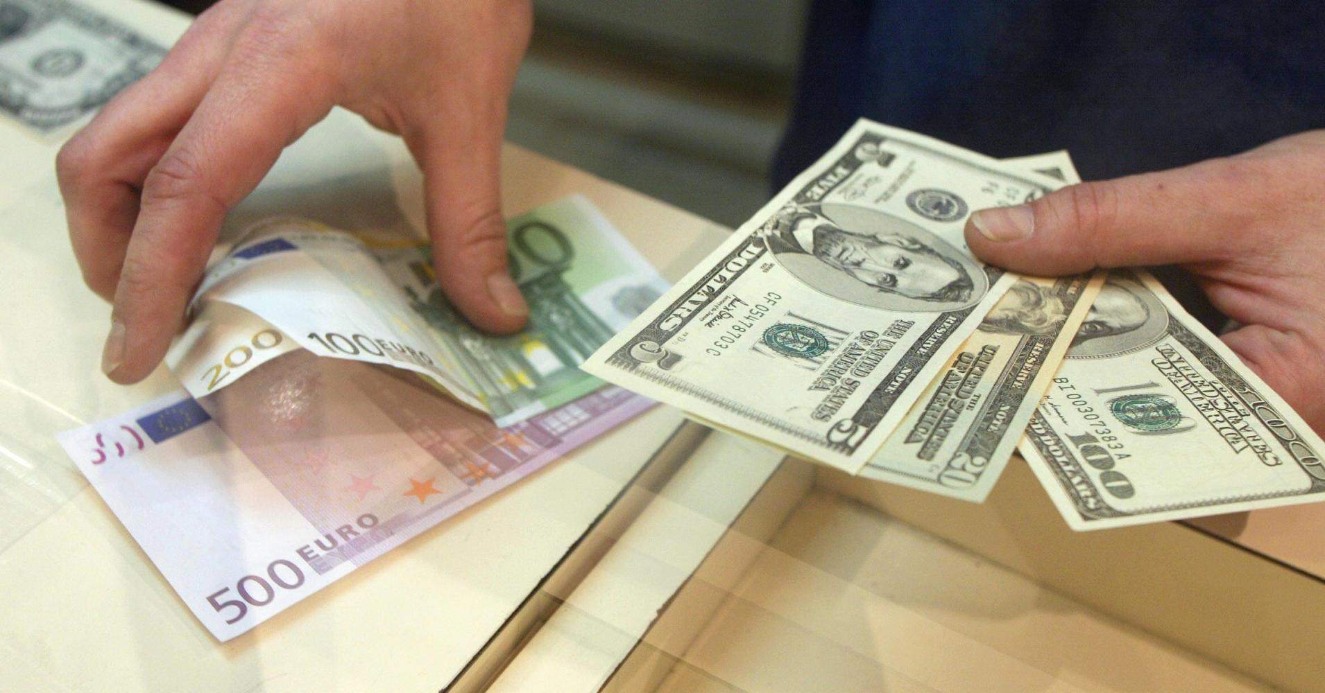 قیمت امروز دلار و یورو در بازار تهران