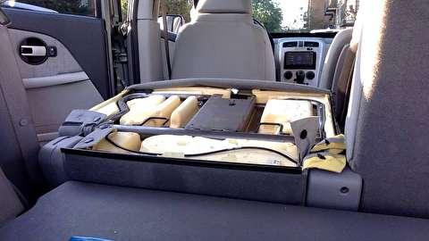 روش باز کردن کمربند ایمنی صندلی عقب تاشو خودرو