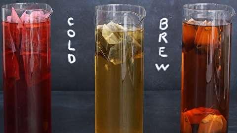 طرز تهیه چای سرد دم کشیده (آیس تی)